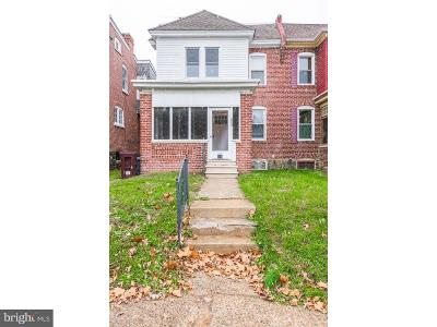 Wilmington Single Family Home For Sale: 807 W 28th Street