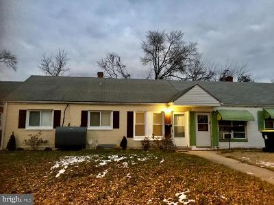 New Castle County Single Family Home For Sale: 349 Sheridan Drive