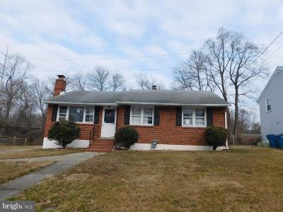 Wilmington DE Single Family Home For Sale: $155,000