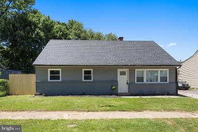 Delaware City Single Family Home For Sale: 9 Reybold Drive