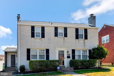 Wilmington Single Family Home For Sale: 228 Pinehurst Road