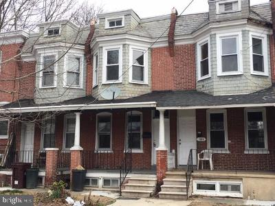 Wilmington Townhouse For Sale: 323 W 23rd Street