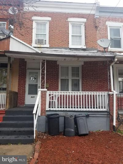 Wilmington Townhouse For Sale: 829 E 17th Street