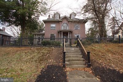 Wilmington Single Family Home For Sale: 1901 Baynard Boulevard