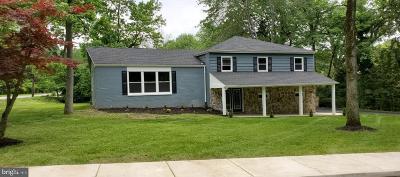Wilmington Single Family Home For Sale: 1003 E Matson Run Parkway