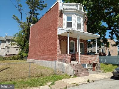 Wilmington Single Family Home For Sale: 1129 Davis Street