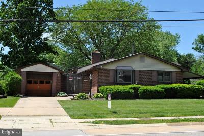 Single Family Home For Sale: 2205 Milltown Road