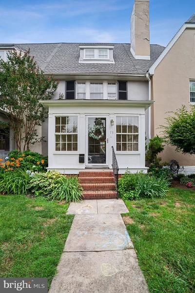 Wilmington Townhouse For Sale: 711 Coverdale Road