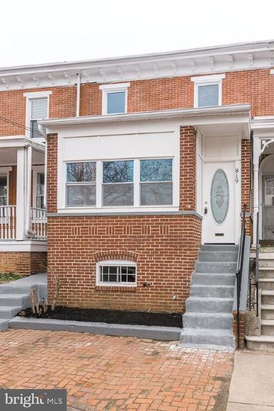 Wilmington Townhouse For Sale: 819 N Clayton Street