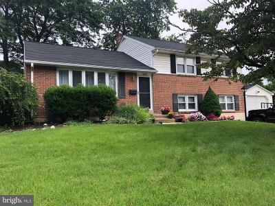 Single Family Home For Sale: 1803 Gravers Lane