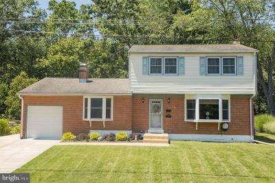 Newark DE Single Family Home For Sale: $279,900