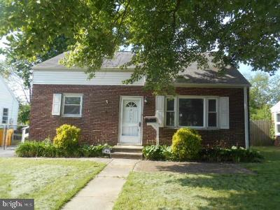 Wilmington DE Single Family Home For Sale: $159,000