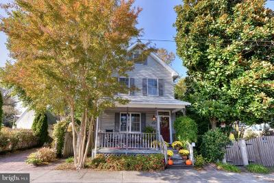 Lewes Single Family Home For Sale: 318 Chestnut Street