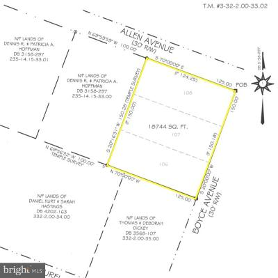 Laurel Residential Lots & Land For Sale: Boyce Avenue #106-108