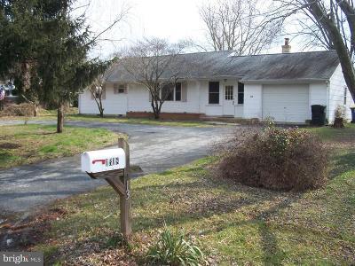 Lewes Single Family Home For Sale: 1318 E Savannah Road
