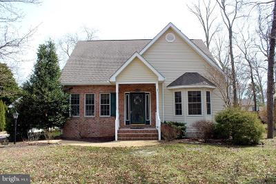 Dagsboro Single Family Home For Sale: 33899 Hiawatha Boulevard