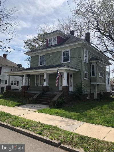 Seaford Single Family Home For Sale: 500 N Pine Street