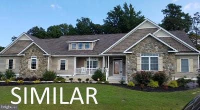 Single Family Home For Sale: Lot A & B Dove Knoll Drive