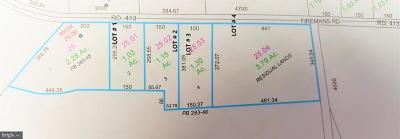 Residential Lots & Land For Sale: Lot # 3 Firemans Road