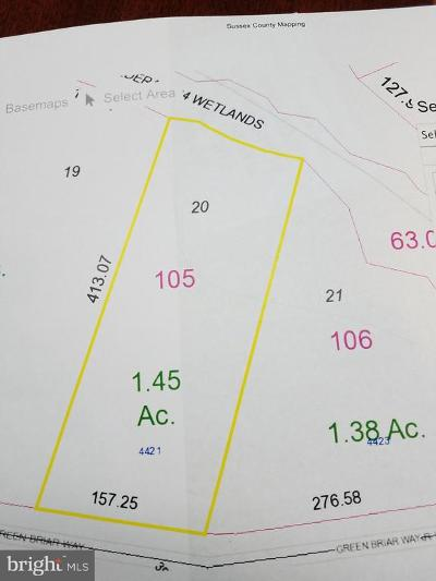 Seaford Residential Lots & Land For Sale: 4421 Greenbriar Way #LOT 20