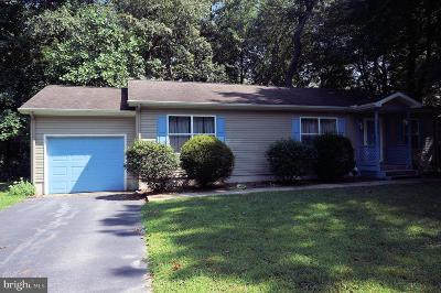 Dagsboro Single Family Home For Sale: 34026 Creek Road
