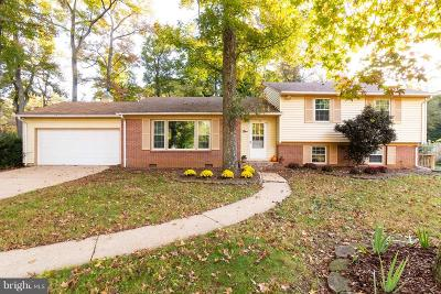 Annapolis Single Family Home For Sale: 1 Romar Drive