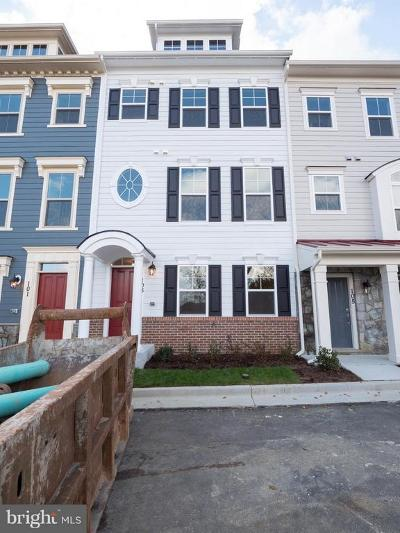 Annapolis Townhouse For Sale: 103 Norma Alley