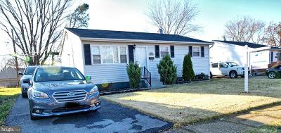 Laurel Single Family Home For Sale: 328 Old Line Ave