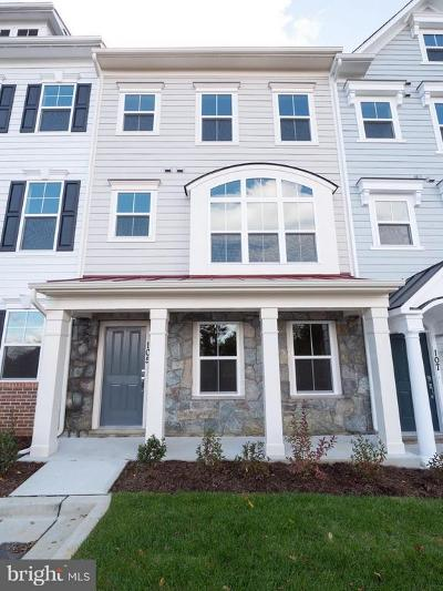Annapolis Townhouse For Sale: 105 Norma Alley