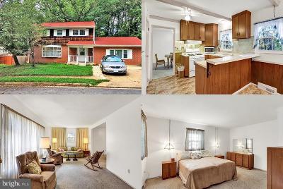 Annapolis Single Family Home For Sale: 1309 Van Buren Drive