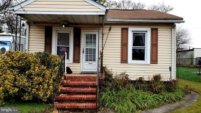 Glen Burnie Single Family Home For Sale: 10 Virginia Avenue NW
