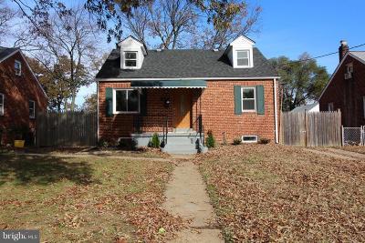 Glen Burnie Single Family Home For Sale: 314 New Jersey Avenue NE
