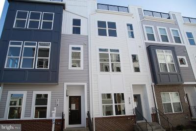 Annapolis Townhouse For Sale: 216 Wesley Brown Lane