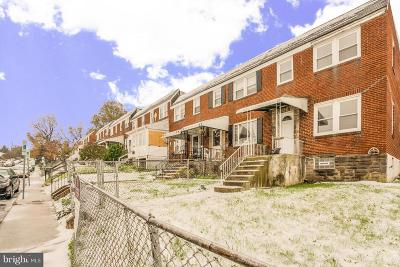 Baltimore Townhouse For Sale: 317 Arden Road W