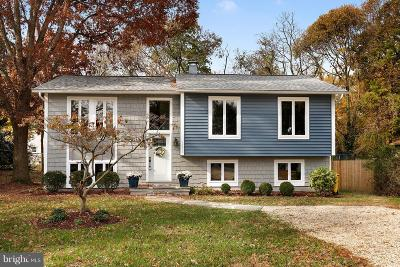 Annapolis Single Family Home For Sale: 1236 Pine Hill Drive