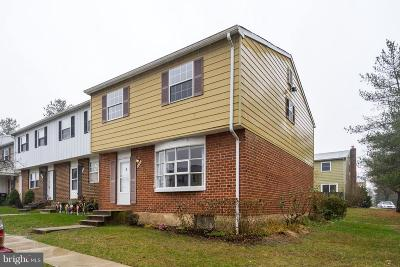 Glen Burnie Townhouse Under Contract: 481 Long Towne Court