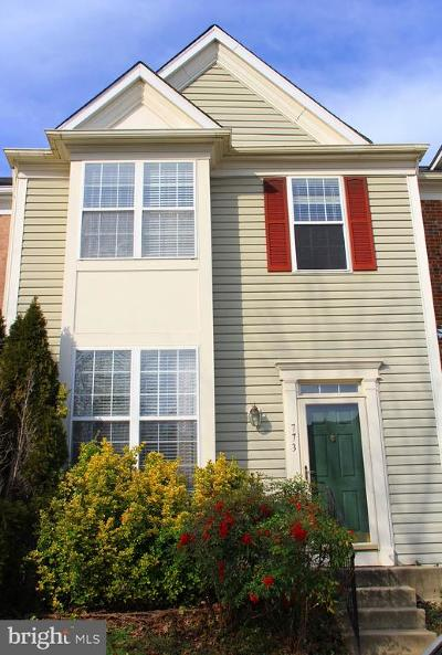 Annapolis Townhouse For Sale: 773 Howards Loop