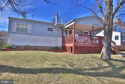 Glen Burnie Single Family Home For Sale: 7852 Shellye Road