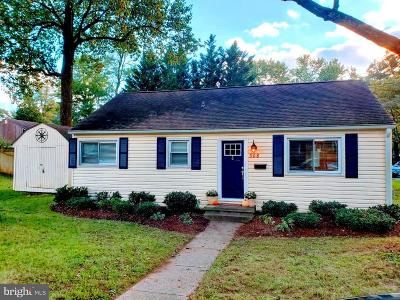 Annapolis Single Family Home For Sale: 308 Ludlow Road