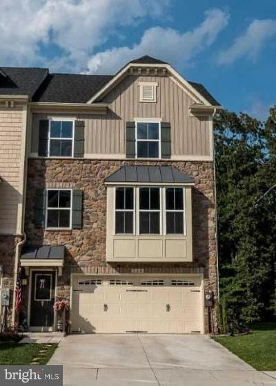 Glen Burnie Townhouse For Sale: 524 Fox River Hills Way