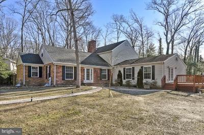 Anne Arundel County Single Family Home For Sale: 1 Saint Ives Drive