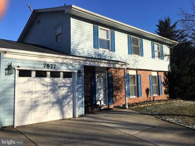 Severn Single Family Home For Sale: 7877 Bastille Place