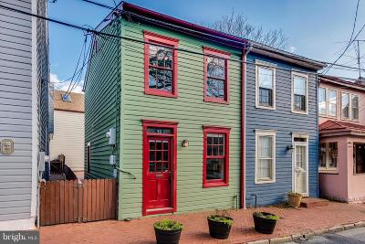 Anne Arundel County, Calvert County, Charles County, Prince Georges County, Saint Marys County Townhouse For Sale: 40 Fleet Street