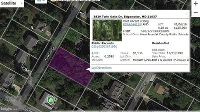Edgewater Residential Lots & Land For Sale: 3829 Twin Oaks Drive