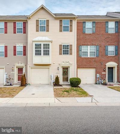Glen Burnie Townhouse For Sale: 7273 Mockingbird Circle