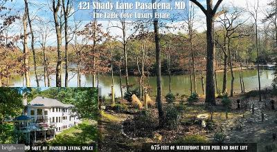 Anne Arundel County Single Family Home For Sale: 421 Shady Lane