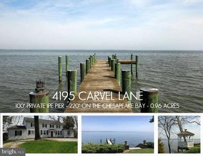 Edgewater Residential Lots & Land For Sale: 4195 Carvel (Lot 1) Lane