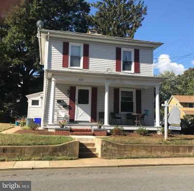 Annapolis Single Family Home For Sale: 422 State Street