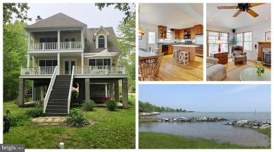 Anne Arundel County, Calvert County, Charles County, Prince Georges County, Saint Marys County Single Family Home For Sale: 1580 Columbia Beach Road
