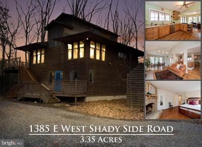 Shady Side Single Family Home For Sale: 1385 E West Shady Side Road